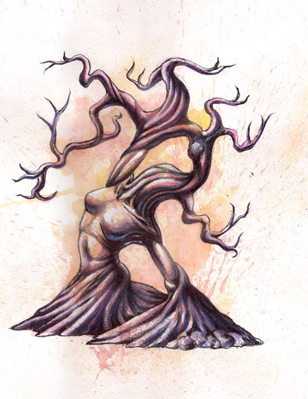 Colin Maisonpierre -TREE LADY